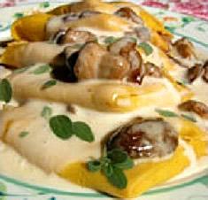 Lasagnette di grano saraceno e funghi porcini