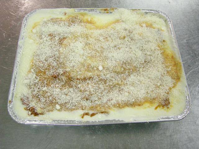 Lasagna al forno alla Bolognese senza glutine
