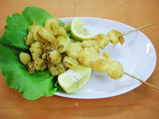 Fritto Misto in tempura ambrata
