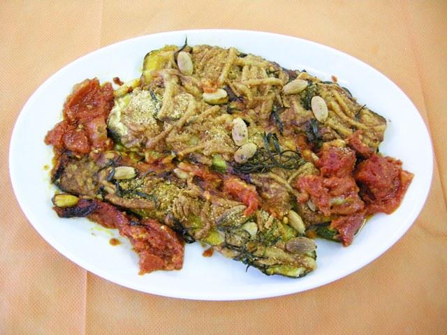 Zucchine in crosta