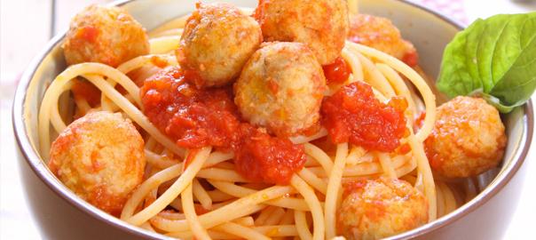 spaghetti-polpettine-fagiloli