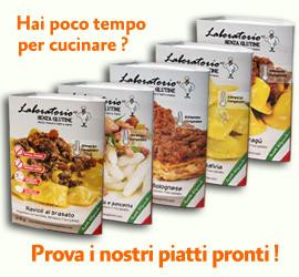 Alimenti artigianali senza glutine