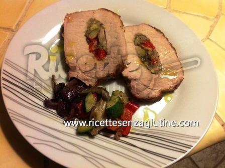 ricetta arista alle verdure senza glutine