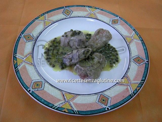 Ricetta Bocconcini di Filetto al Pepe Verde senza glutine