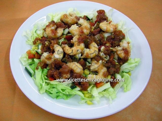 Ricetta Camarones y Cancun senza glutine