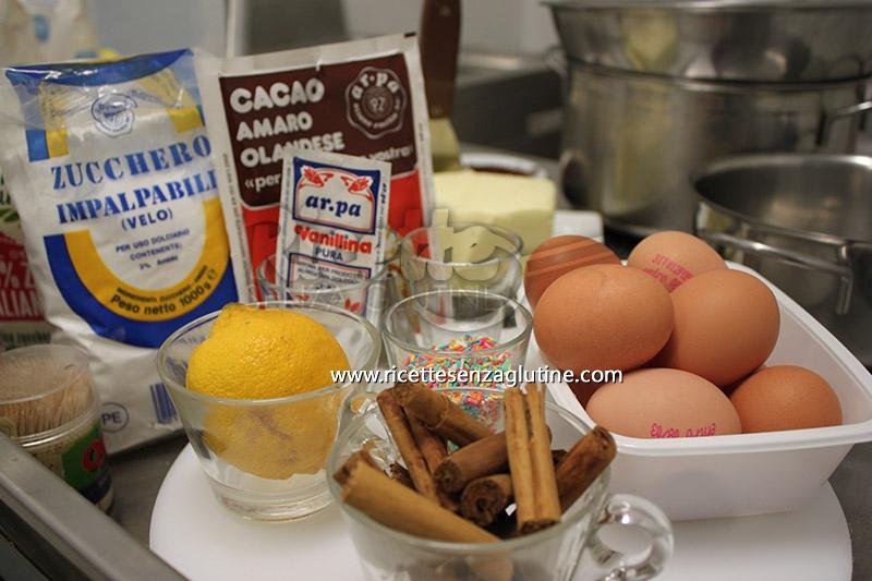 Ingredienti crema pasticcera senza glutine