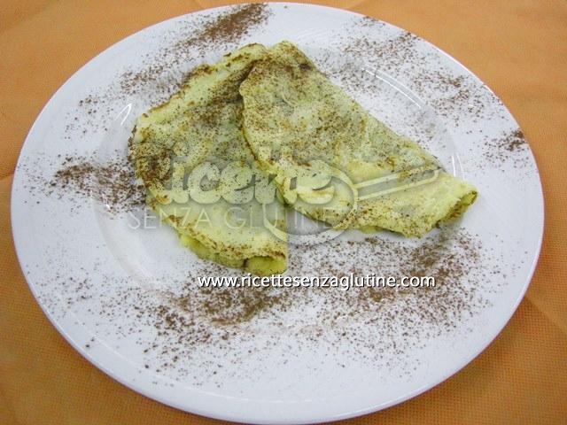 Ricetta Crepes Dolci senza glutine