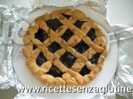 Ricetta Crostata con marmellata di mirtilli senza glutine