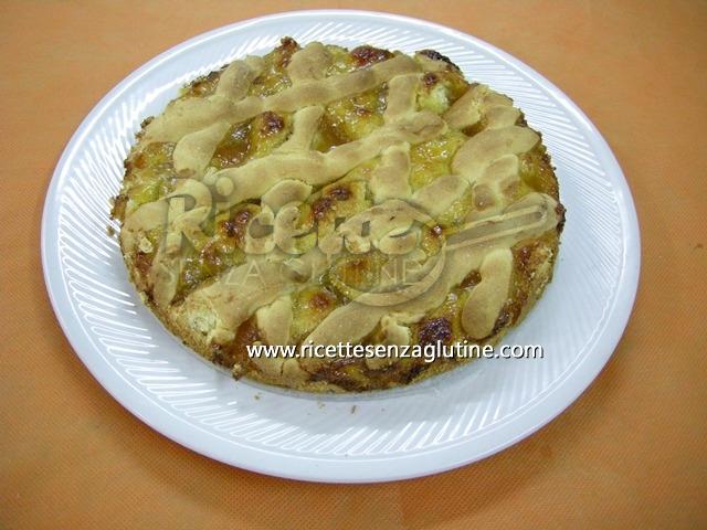 Ricetta Crostata di Pesche senza glutine