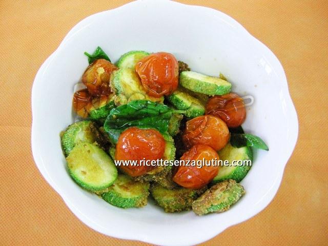 Ricetta Fantasia Vegetariana Tricolore senza glutine
