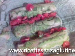 Ricetta Filetti di trota con verdure in gelatina senza glutine
