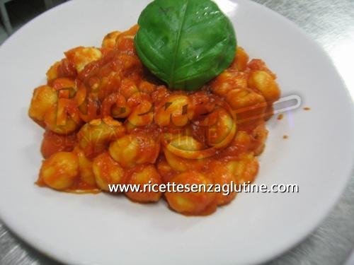 Ricetta Gnocchi di patate senza glutine senza glutine