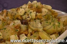 Ricetta Insalata con pecorino e sorpresa senza glutine
