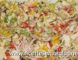 Ricetta Insalata di pollo senza glutine