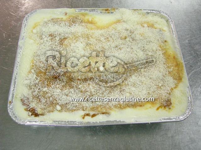 Ricetta Lasagna al forno alla Bolognese senza glutine senza glutine