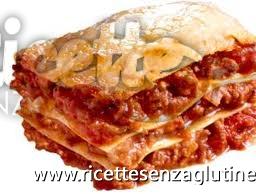 Ricetta Lasagne al ragu e besciamella senza glutine