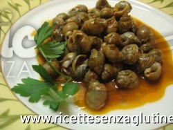 Ricetta Lumachine di mare senza glutine