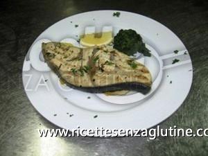 pesce spada alla griglia senza glutine