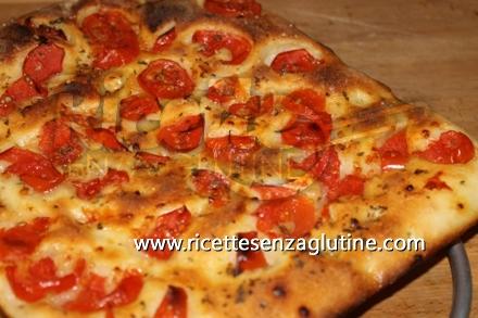 Ricetta Pizza Marinara senza glutine