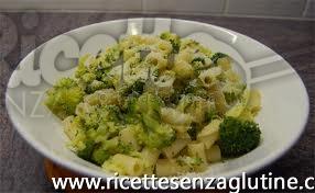 Ricetta Primo con broccoli senza glutine