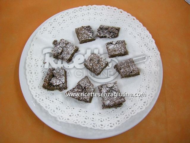 Ricetta Quadrotti al fondente senza glutine