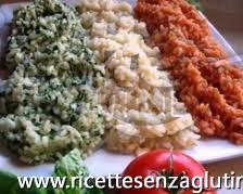Ricetta Riso Tricolore senza glutine