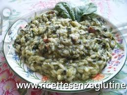 Ricetta Risotto agli spinaci senza glutine