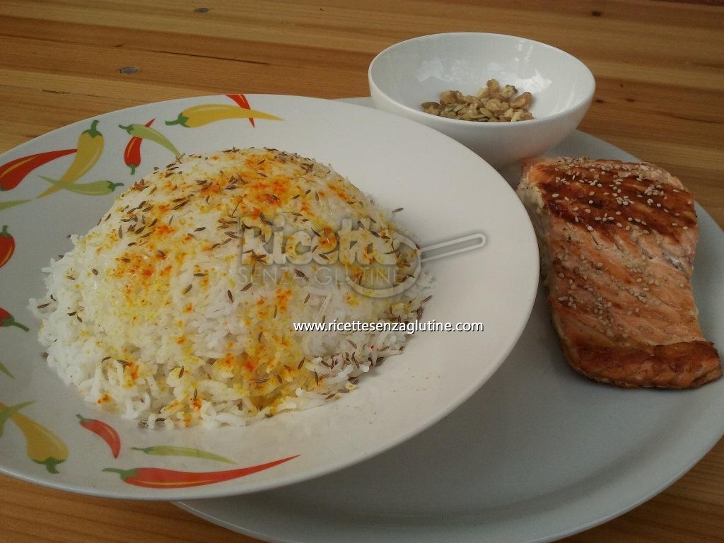 Ricetta Salmone etnico senza glutine