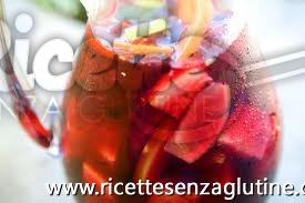 Ricetta Sangria senza glutine