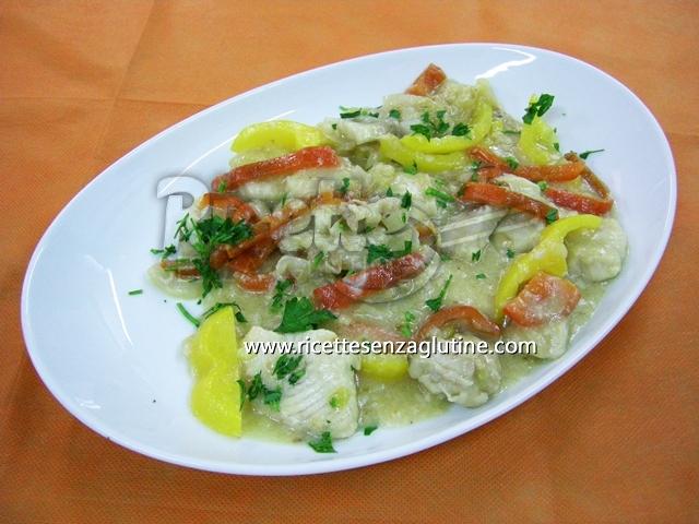 Ricetta Sopa de pescado y pimiento senza glutine