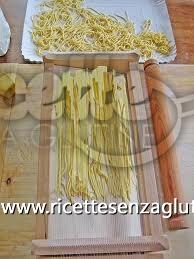 Ricetta Spaghetti alla chitarra senza glutine