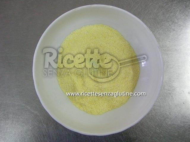 ricetta senza glutine