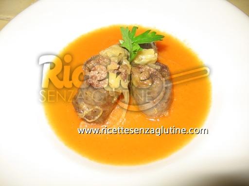 Ricetta Vellutata di zucca e salsiccia senza glutine